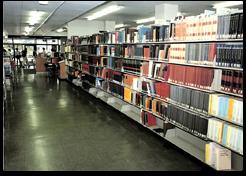 松下記念図書館内部「卒業アルバム1986~1990」より