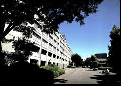 ピロティ前の景色「卒業アルバム1991~1995」より